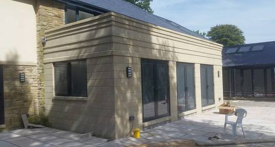 Orangery made out of Ancaster stone