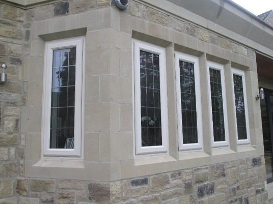 Stone window sets